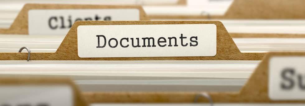 probate documents