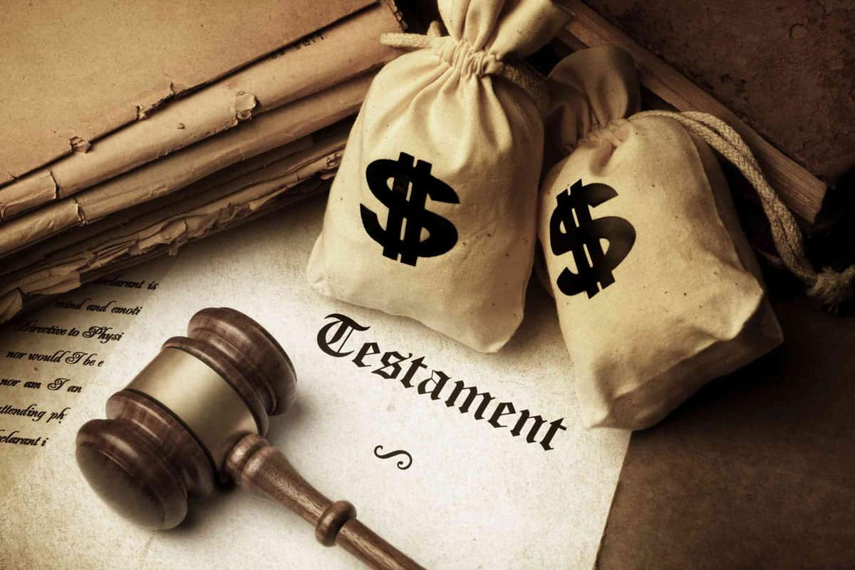 Final Will And Testimate For An Estate