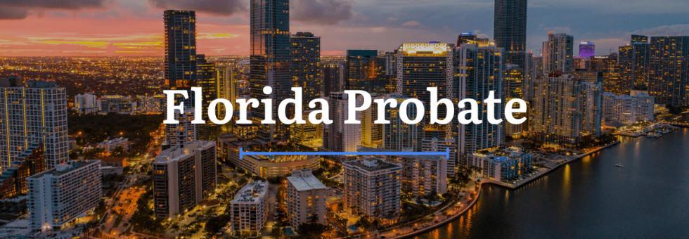 Florida Probate Laws